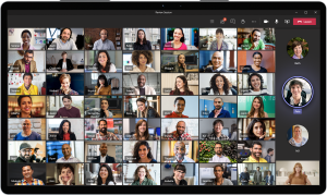 Gallery View in Microsoft Teams