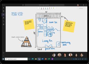 Whiteboard in in Microsoft Teams