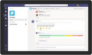 Reflective Messaging in Microsoft Teams