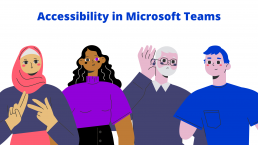 Accessibility in Microsoft Teams